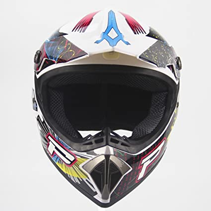 zyy Casco, Four Seasons Motocicleta Off-Road Hombres Y Mujeres Mountain Bike Cara Completa