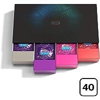 Durex Fun Explosion Kit di Preservativi Assortiti, 40 Pezzi