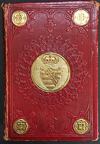 [Queen Victoria. (1819 - 1901)] Adelaide of Saxe-Meiningen. (1792 - 1849): Almanach de Gotha pour l'année 1837 - INSCRIBED PRESENTATION COPY FROM THE DOWAGER, QUEEN ADELAIDE TO QUEEN VICTORIA TWO WEEKS AFTER HER SUCCESSION TO THE THRONE