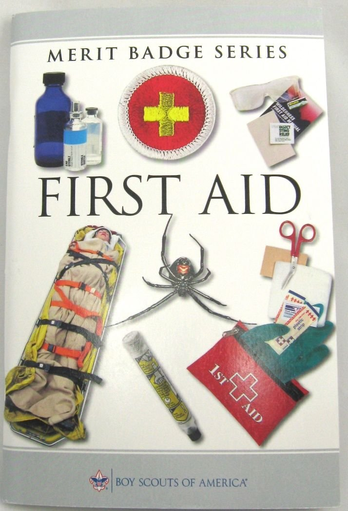 First Aid Merit Badge Series Pamphlet Book Boy Scouts Of
