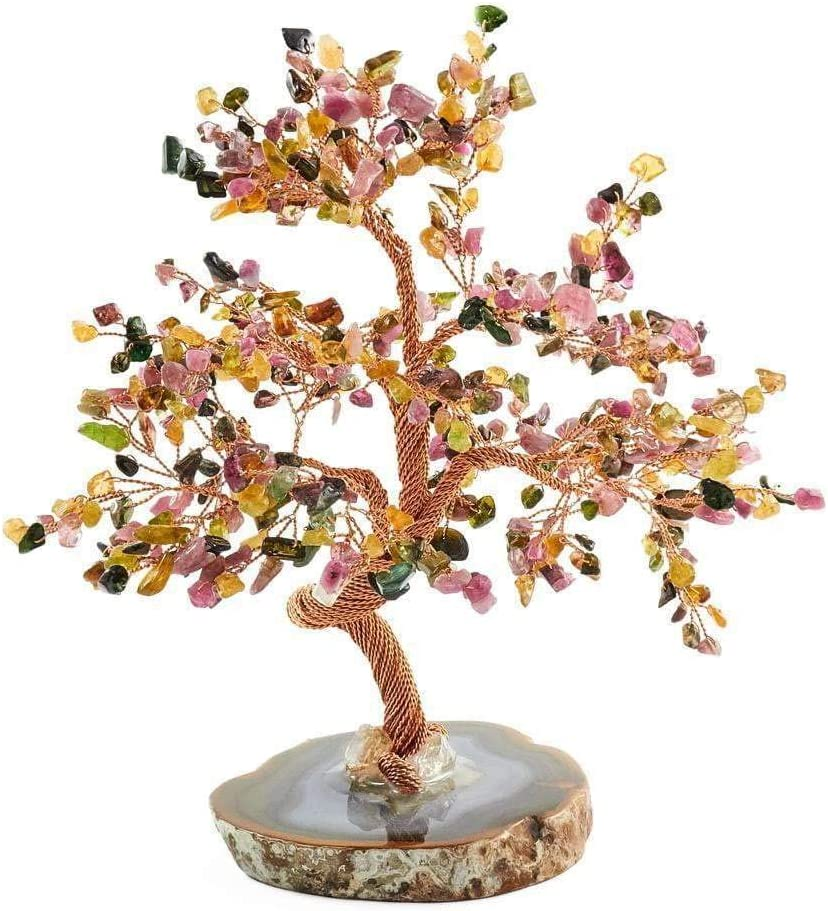 High Awareness - Original Feng Shui Tourmaline Stone Tree