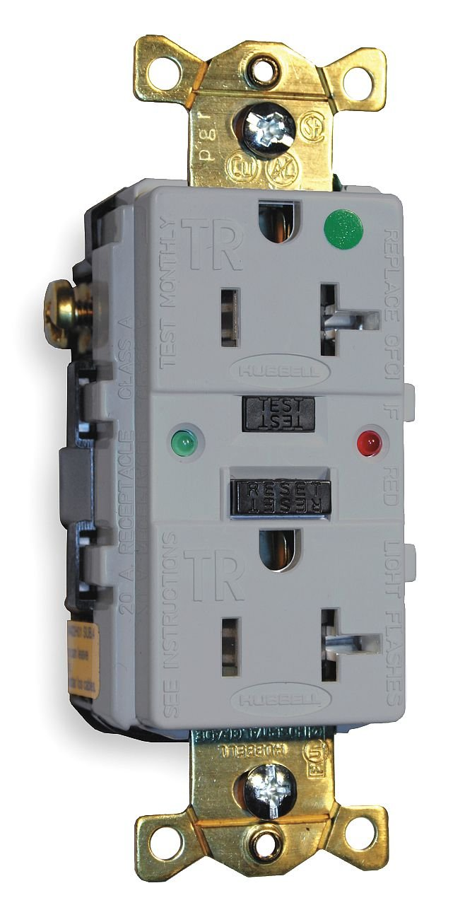 Hubble Hospital Grade Outlets 125 V 15 Amp/'S Gray Brand New In The Box