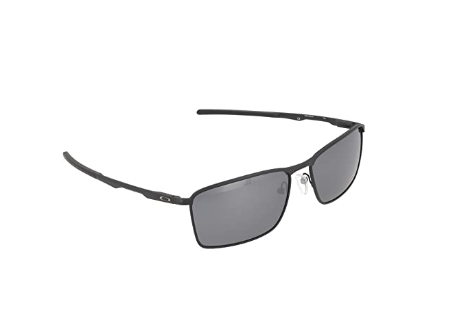Oakley Men s Conductor 6 Non-Polarized Iridium Rectangular Sunglasses,  Matte Black, ... c6a2db76dfc0