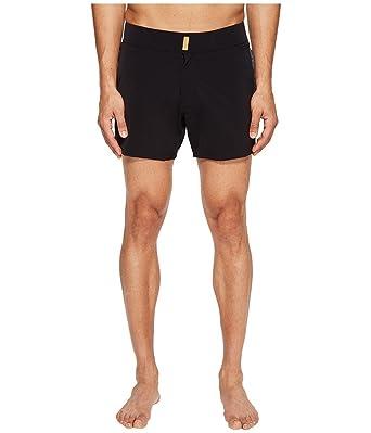 600373a203ad2 Vilebrequin Men's Midnight Smoking Tuxedo Trunk Black Swimsuit Bottoms