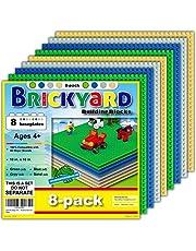 Lego-Compatible Brickyard Baseplates