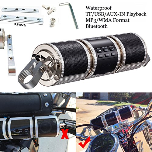 Waterproof Motorcycle System Speakers Bluetooth product image