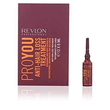 Revlon Profesional ProYou Tratamiento Anticaida del Cabello (12 ...