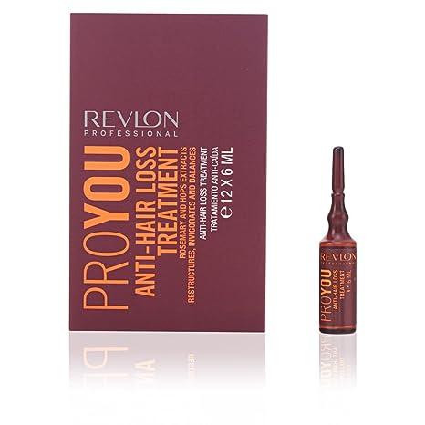 Revlon Profesional ProYou Care Tratamiento Anti-Caída del Cabello (12 ampollas de 6 mL): Amazon.es