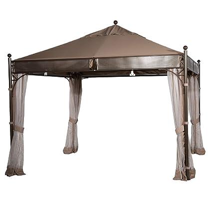 Abba Patio 11.5 X 11.5 Ft Outdoor Art Steel Frame Garden House Party Canopy  Patio Gazebo
