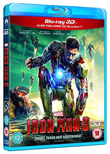 Iron Man 3 [Blu-ray 3D + Blu-ray] [Region Free]