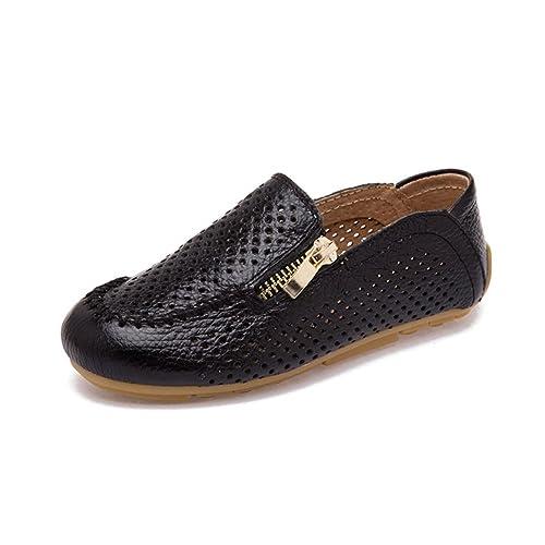 JOSMO Boys Slip On Boat Shoes Toddler//Little Kid//Big Kid