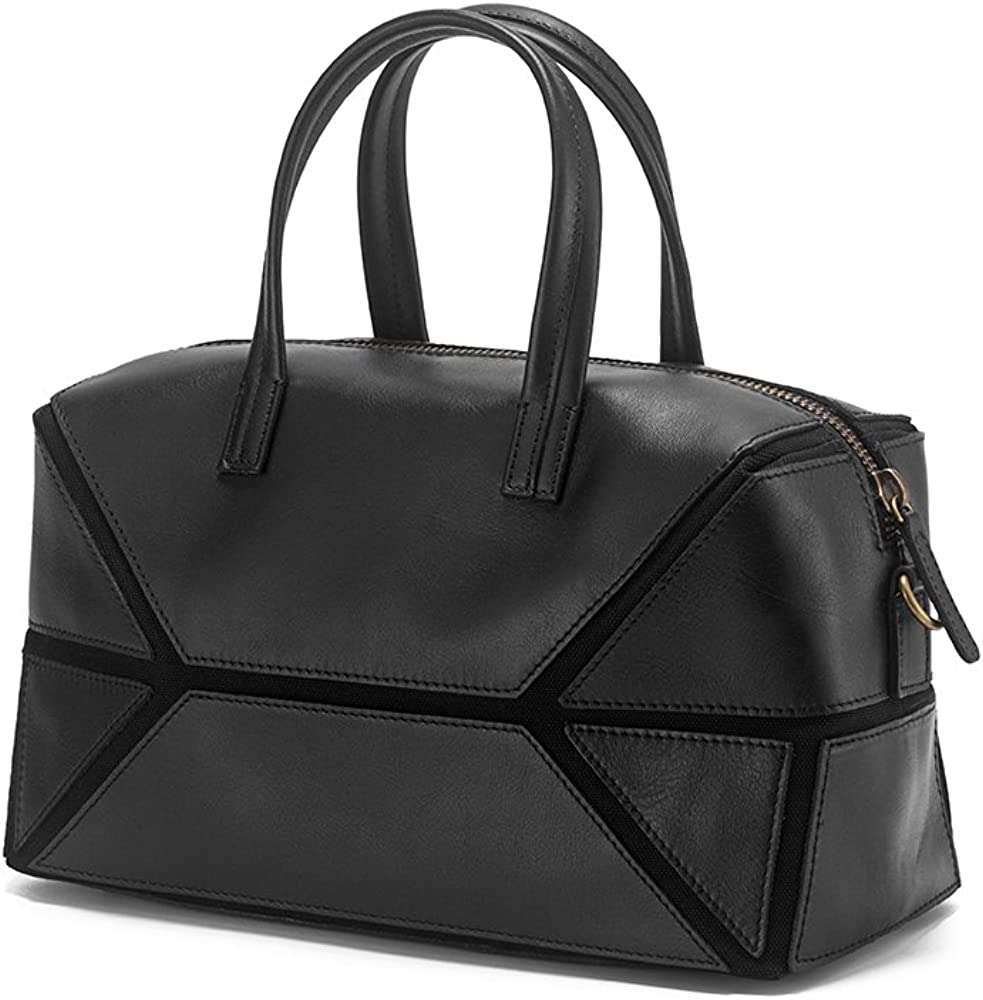 Cowhide Genuine Leather Puzzle Crossbody Bags Shoulder Tote Bags for women Leather Handbags and Purse