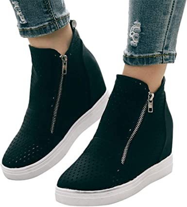 Flat Loafers Wedge Shoes