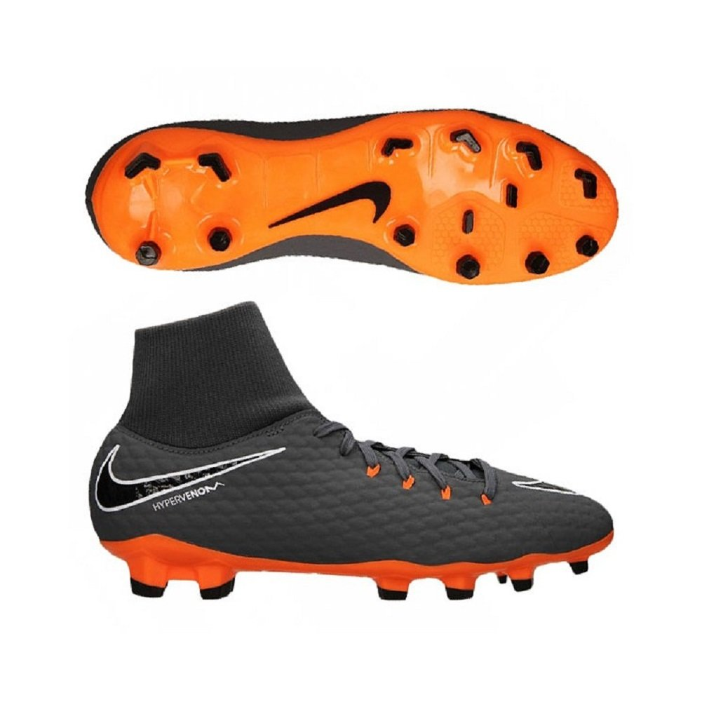 NIKE Men's Phantom 3 Academy DF FG Soccer Cleat (10.5 D(M) US
