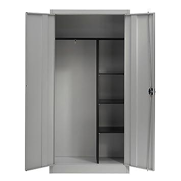 armoire metallique penderie
