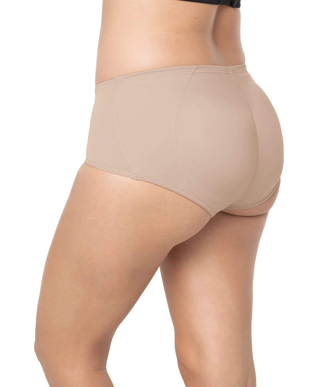 Leonisa Magic Benefit Instant Butt Lift Padded Panty Boyshort Underwear for Women 012688