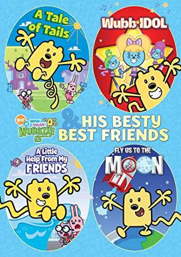 Wubbzy and His Besty Best Friends 4-Pack (Boxed Set, 4PC)