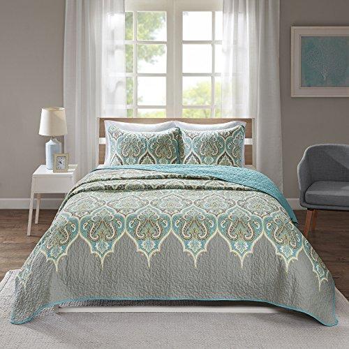 Comfort Spaces Mona Cotton Mini Quilt Set 3 Piece