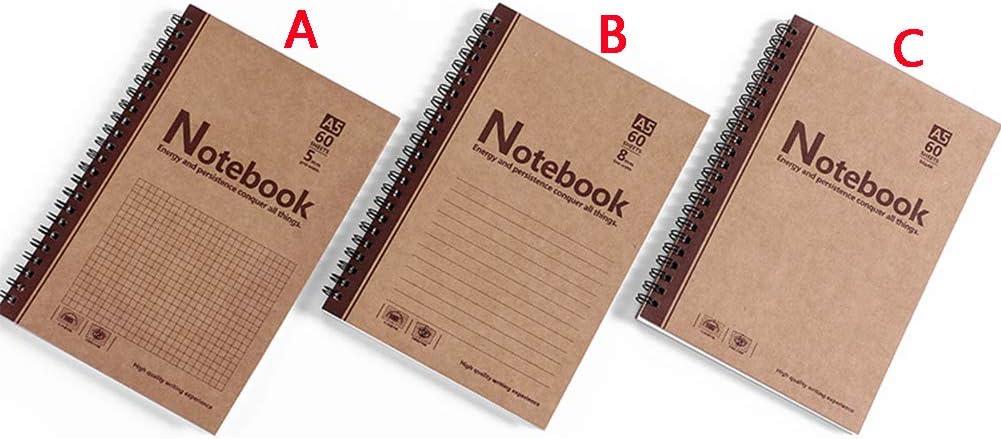BBNNWW Libreta Bonitas,Cuaderno Simple,3 Pack(3 Estilos): Amazon.es: Hogar