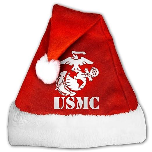 Amazon com: Eagle Globe Anchor USMC Marine Corps Vinyl Santa Hat