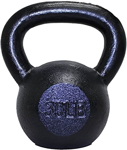 Troy Barbell VTX Cast Iron Kettlebell 15 -Pounds