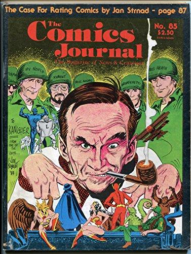 Comics Journal #85 Fantagraphics Magazine 1983 First appearance BLACK COSTUME SPIDER-MAN Kubert -