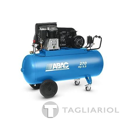 Abac Pro b5900b 270ct5,5Compresor 270L Motor Trifásico 5,5hp con transmisión a correa