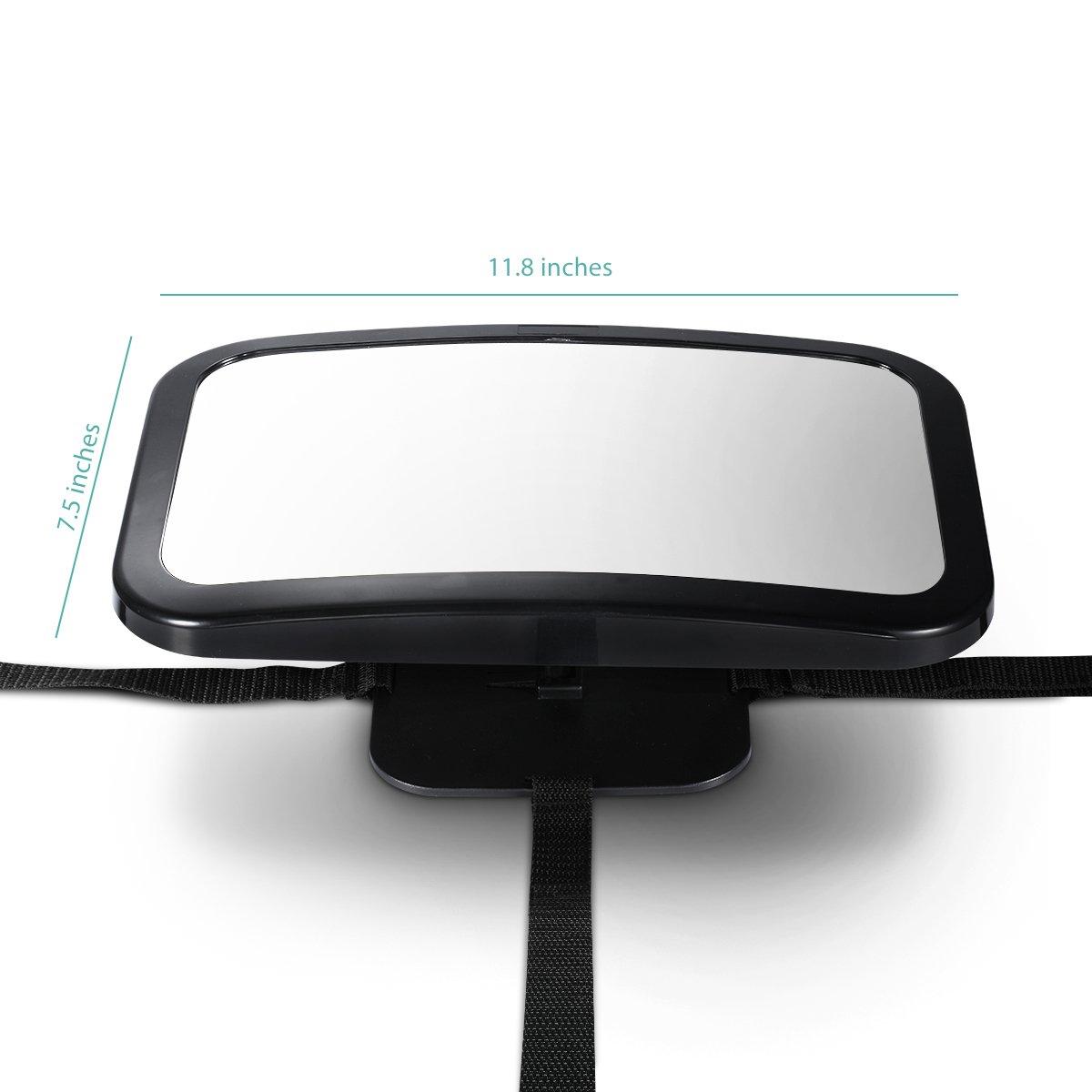 Espejo retrovisor para vigilar al bebe en el coche por solo 14 89 cholloexperto - Espejo coche bebe amazon ...