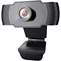 1080P Webcam with Microphone, Wansview USB 2.0 Desktop Laptop Computer Web Camera with Auto Light Correction, Plug and…