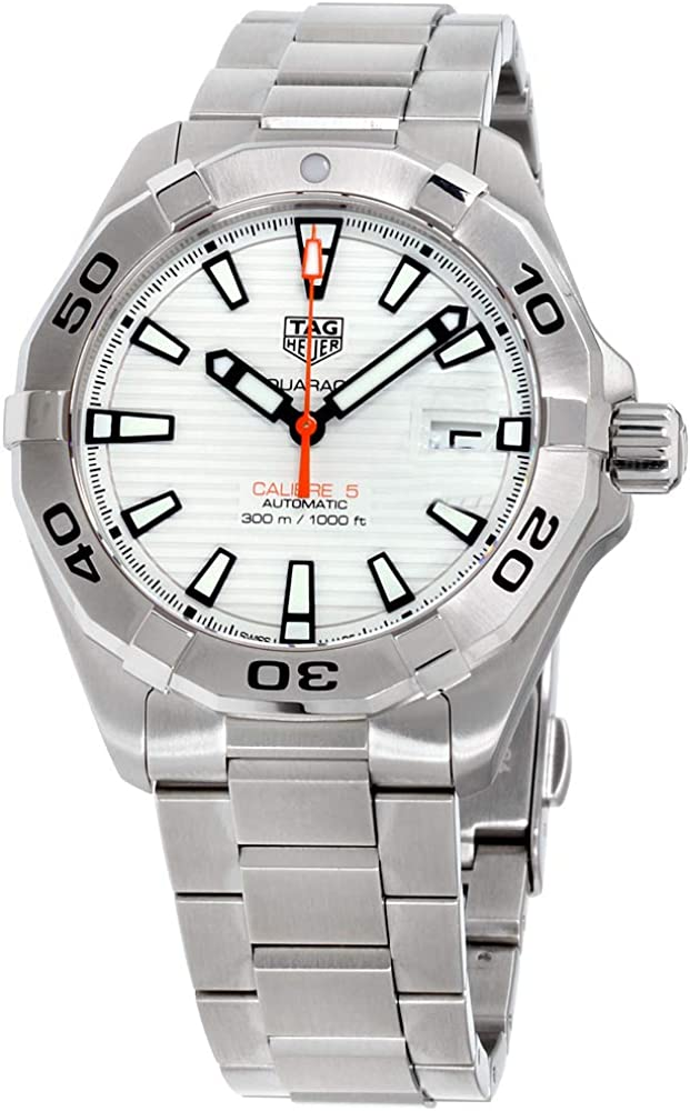 Tag Heuer Aquaracer White Dial Stainless Steel Men s Watch WBD2111.BA0928