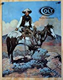 """Colt """"Tex and Patches"""" Metal Sign"""