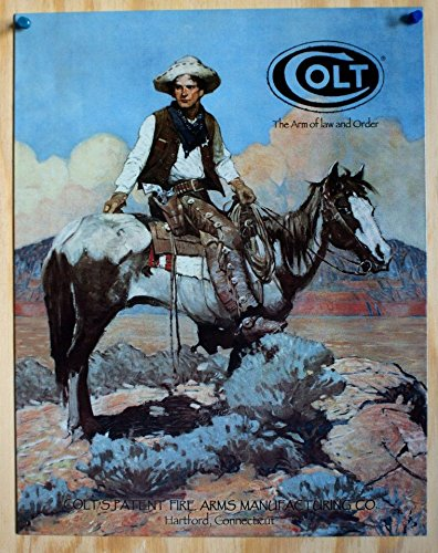 New Colt Tex and Patches Metal Sign