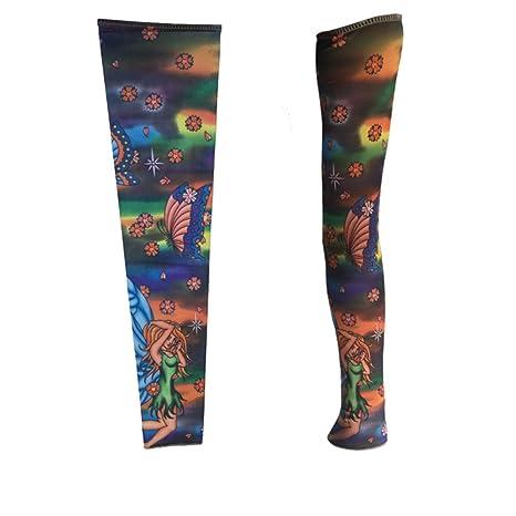 Calentadores de brazo/manga floral del tatuaje del brazo/manga del ...