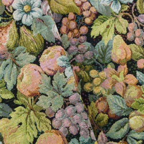 Multi Designer Floral Tapestry Home Decorating Fabric, Fabric by The Yard