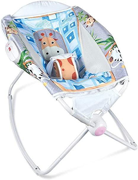 WY-Tong silla bebe Silla mecedora de bebé, multifunción temblor ...