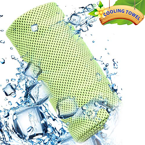Yezala Cooling Towel | Instant Chilling Cold Towels Instant Relief Neck Wrap Scarf for Sports Outdoors