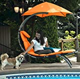 Eclipse Collection The Original Dream Lounger - Orange Zest New