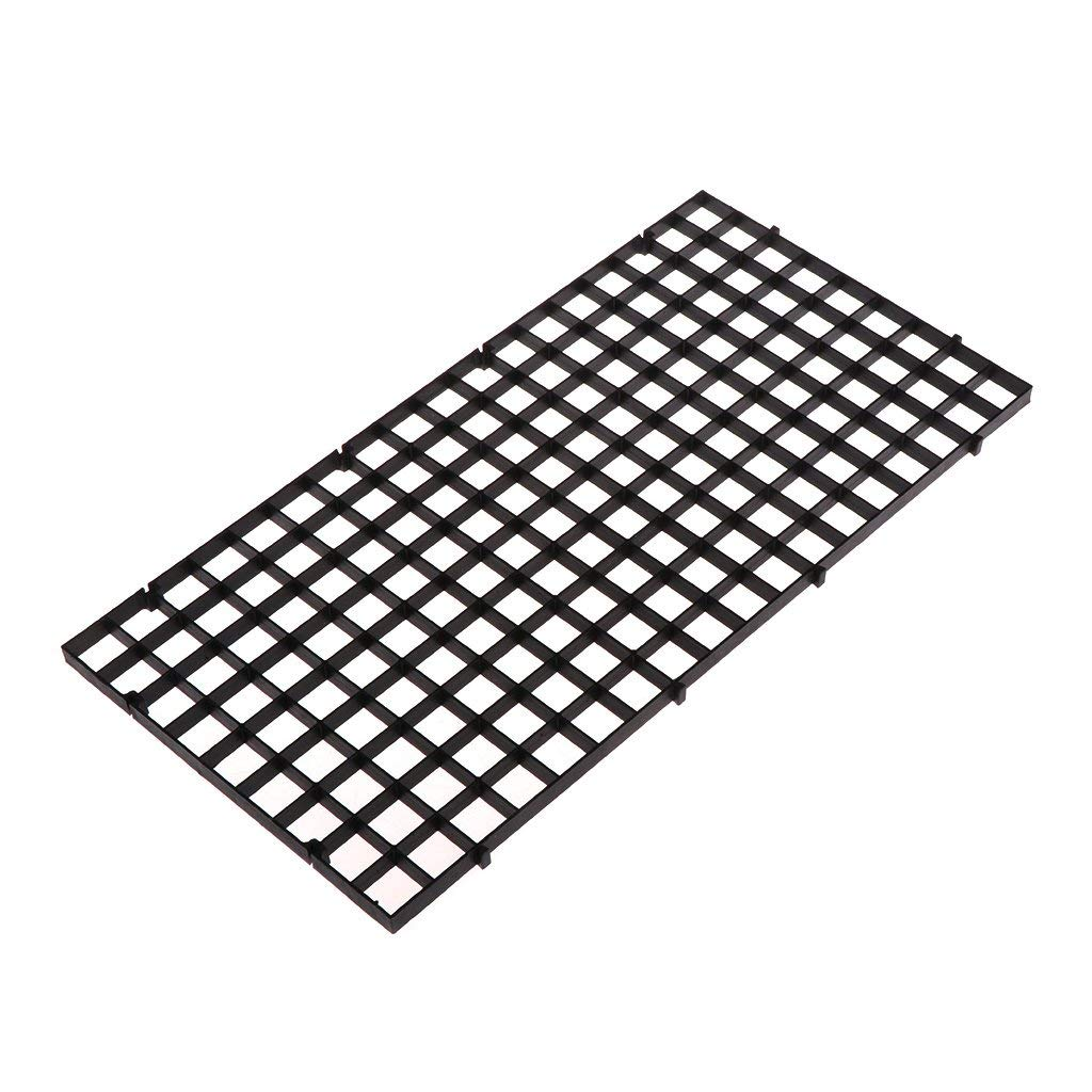 Yevison Aquarium Fish Tank Isolation Net, Plate Divider Filter Board Net Divider Black 30cmx15cm Premium Quality by Yevison