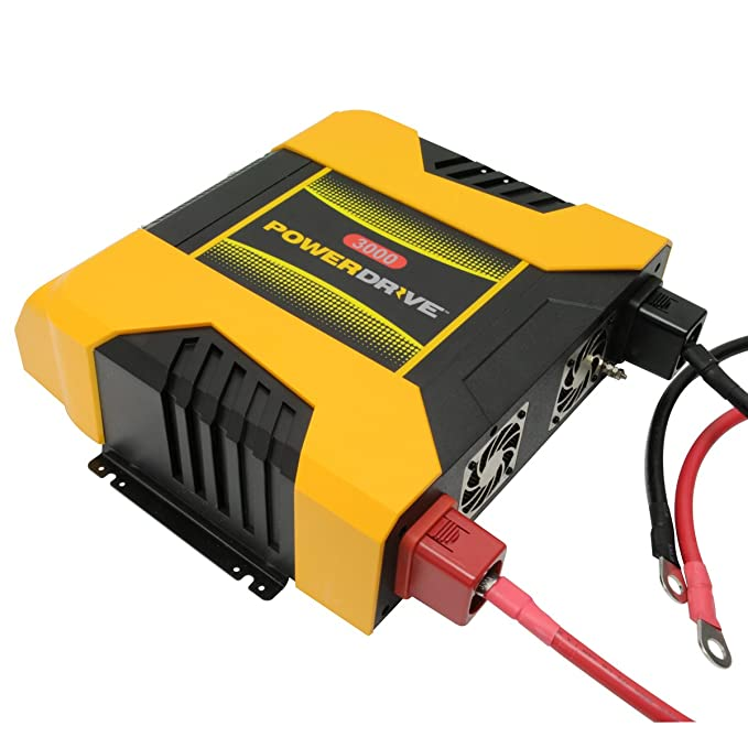Amazon.com: PowerDrive PD3000 3000W Power Inverter with Bluetooth: Automotive