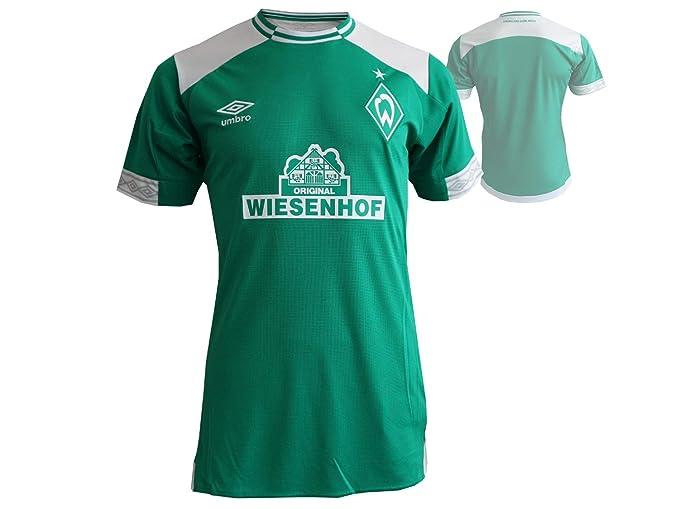 c4139d6f6 Amazon.com   Umbro Werder Bremen Home Jersey 2018 2019 - S   Sports    Outdoors