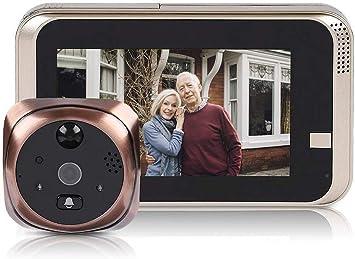 """4.3/"""" LCD Digital Doorbell Video Türspion Kamera Türklingel Infrarot Nachtsicht"""