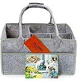 Baby Nursery Diaper Caddy Organizer | Gift Caddy for...