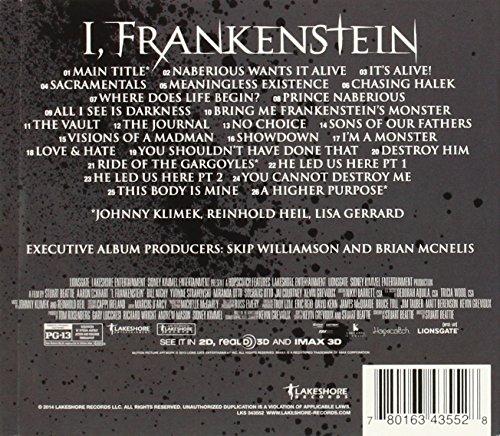 I, Frankenstein (Original Motion Picture Score)