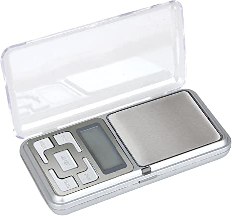 Portable Mini Digital Scale Jewelry Pocket Balance Weight Gram LCD 500g x 0.1g