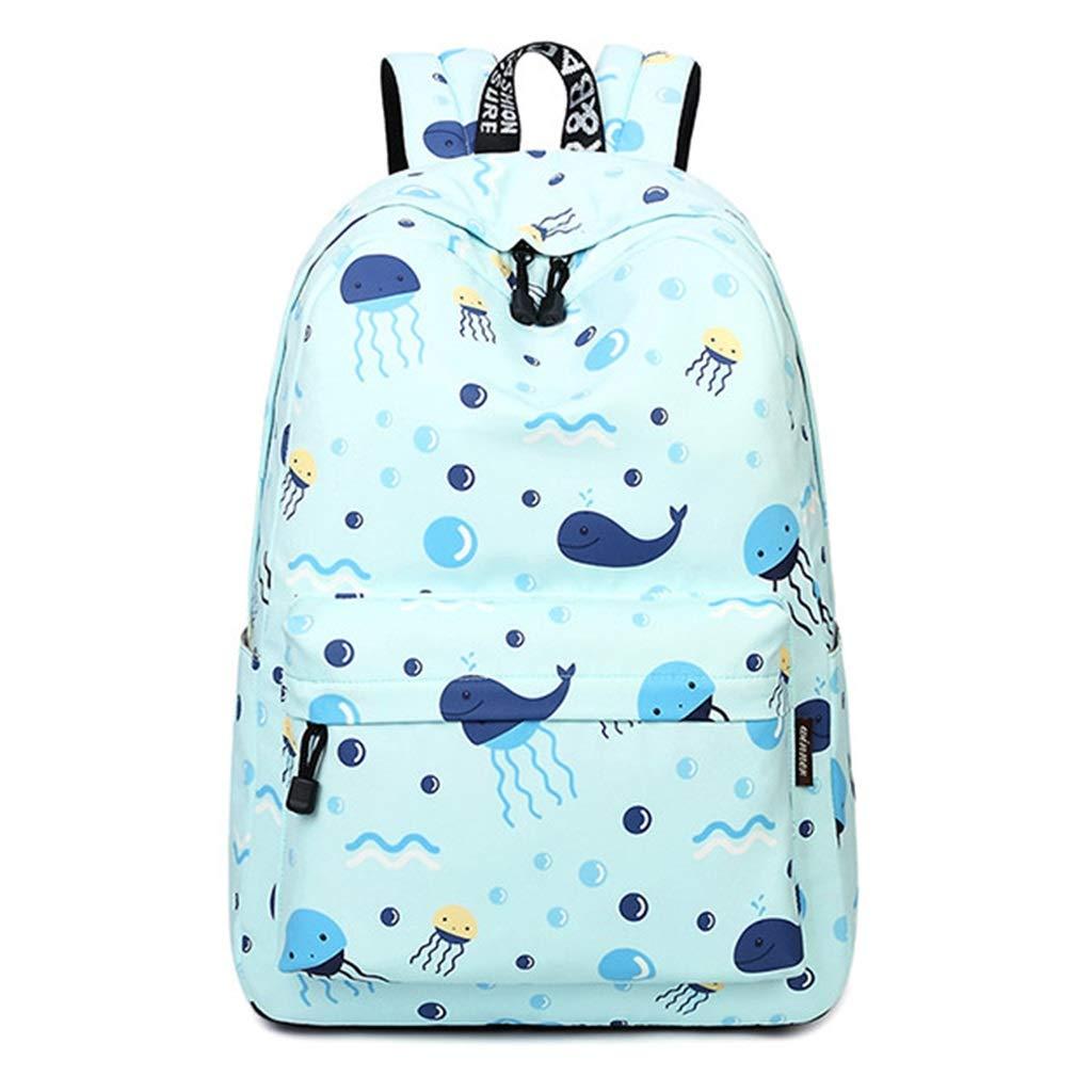 lixin Bolsa de Viaje Bolsa de Estudiante Bolsa de Viaje de Gran Capacidad (Color : Azul, Tamaño : 42.5  30.5  13.5cm)