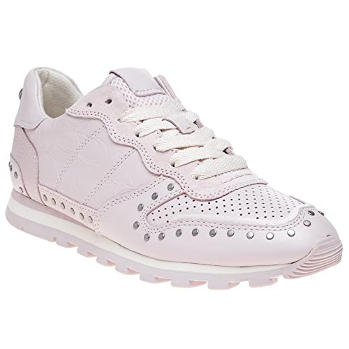 9401d89f0 Coach C118 with Rivets Mujer Zapatillas Rosa  Amazon.es  Zapatos y  complementos
