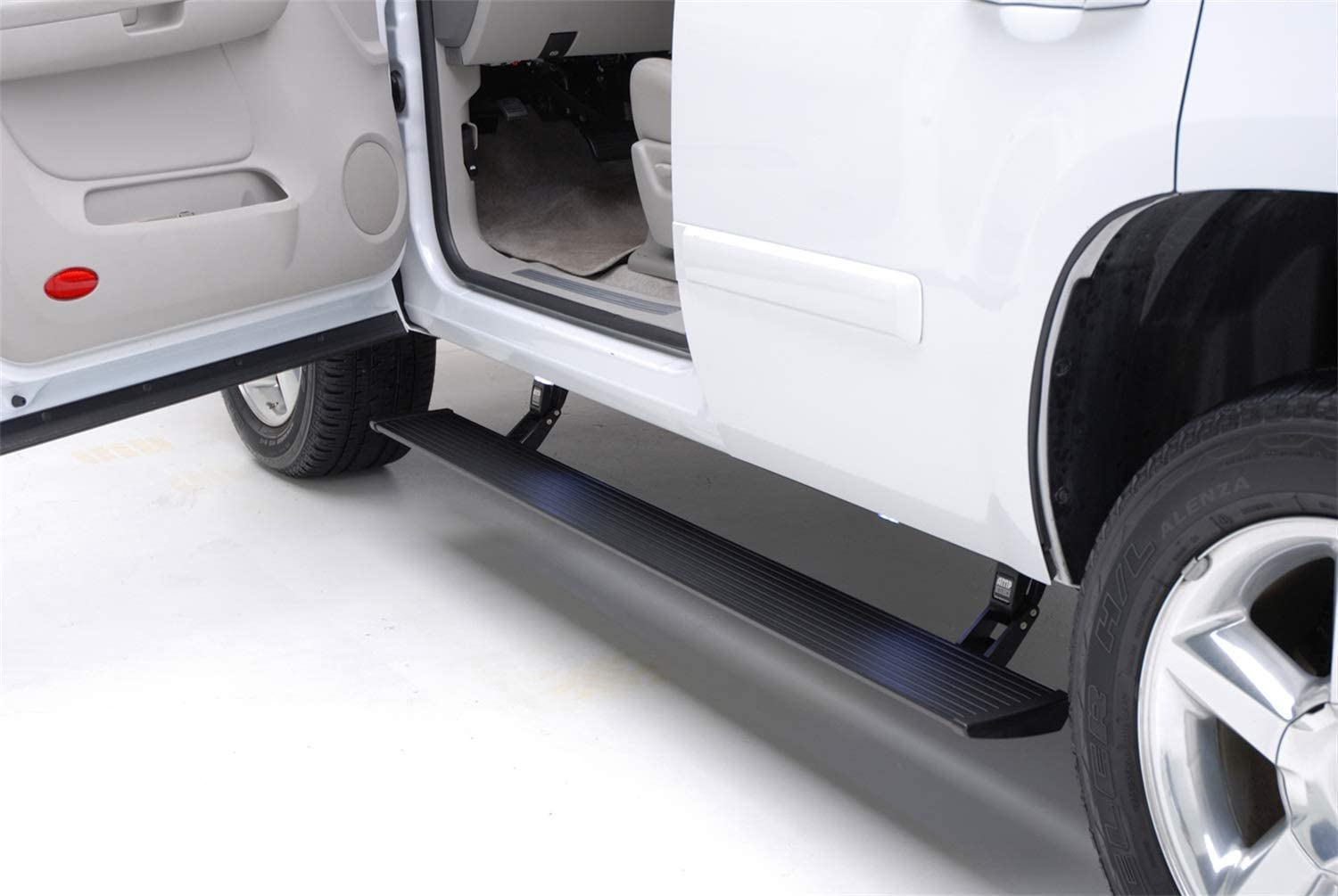 AMP Research 76332-01A PowerStep Electric Running Boards Plug N Play System for 2018 Ford Expedition