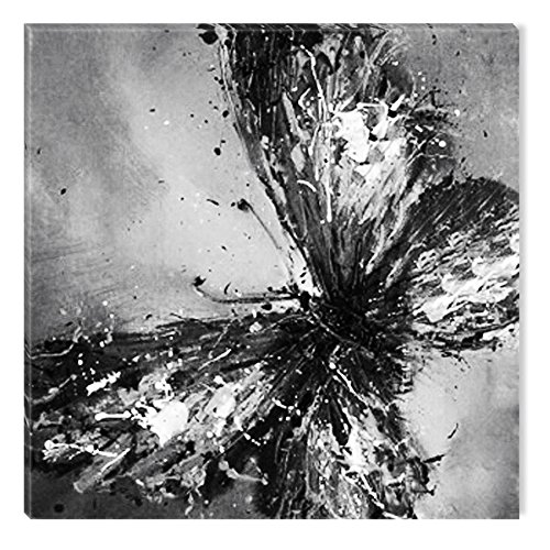 Startonight Canvas Wall Art Black and White Abstract Butterfly