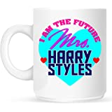 Future Mrs Harry Styles Mug Inspired by One Direction by In Stitches Personalised Gifts