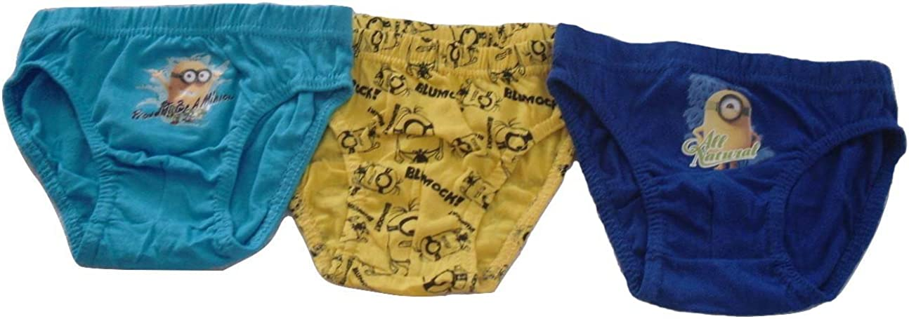 Boys Underwear Briefs Boxed 3 Pack Minions